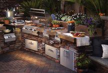venkovní kuchyně
