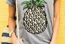 pineapple moodboard