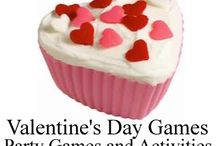 Valentine's Day Games and Ideas / Valentine's Day games and ideas for kids parties / by Birthday Party Ideas 4 Kids