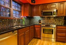 Kitchen Design Inspiration / Beautiful kitchen designs you will love and the Susan Jablon tile that will give you the look!
