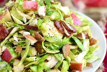 Salads / Brussels sprout salad