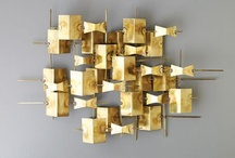 Metal decor - brass/bronze art