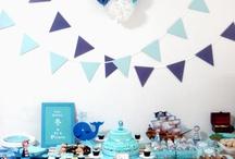 Naomi's Blue Pirate Themed Birthday Paaarrty