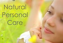 Skin Care / Vegetal Personal Care Tips for your natural skin care!