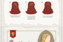 hairstyles of game of thrones