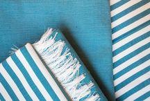 Tessuti artigianali / In puro cotone o puro lino lavorato al telaio di legno