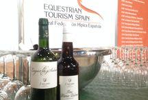 SICAB 2013 / Bodegas Salado estuvo ayer presente en la inauguración oficial de Sicab 2013, que tuvo lugar el pasado 8 de diciembre en Fibes-Sevilla. Nuestros caldos estuvieron presentes en el stand de la Real Federación de Hípica Española.