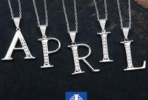 Alphabetic Jewellery / Exclusive collection of alphabetic jewellery in unique designs