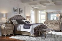 Modern Contemporary Luxury Upholstered Bedroom Collection