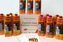 Kampania soków Fortuna Karotka Plus / Fortuna Karotka Plus - soki funkcjonalne stworzone z myślą o kobietach. To jedyna na rynku linia soków marchewkowo-owocowych łącząca dwie wyjątkowe cechy: dodatek składników funkcjonalnych (jak zielona herbata, len czy aloes) oraz brak dodatku cukru.To więcej niż sok marchewkowy - to koktajl składników, które pomogą Ci zadbać o siebie! #sokfortuna #KarotkaPlus
