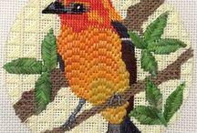 Bargello Счётная гладь / Embroidery Bargello Вышивка счётная гладь