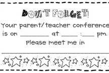 conferences/parents / by Teaching with Hope