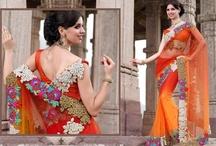 Saree / beautiful and modern saree