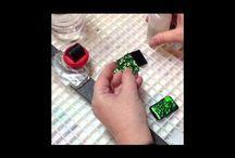 Bead Addiction dichroic glass