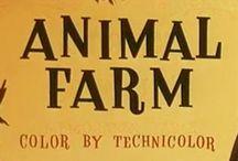 George Orwell Hayvan Çiftliği / George Orwell'in Hayvan Çiftliği Kitabı hakkında bilgi vermek