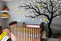 Tree wall paintings