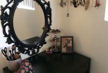 Espejo ikea negro