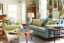 Be Eclectic / What's it really mean to make an eclectic room? Here's some ideas.