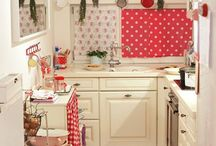 Cucine shabby,accessori,open shelves