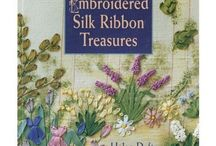 Silk ribbon books