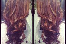 Hair colour / Light brown