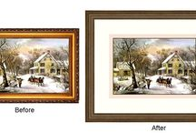 Web site images for framing