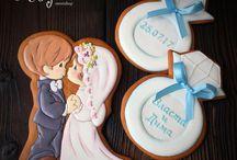 Свадебный пряник