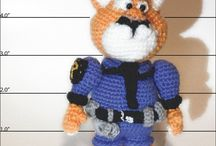 Cartoon Amigurumi / #Cartoon Amigurumi, yarn cartoon amigurumi, #crochet amigurumi, #knitted toys, #zootopia