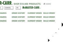 DiY / McMaster-Carr - the only place to find pretty much any part you need.