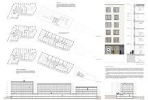 Grimm - Zollhaus - co-housing design competition - Zürich, Switzerland