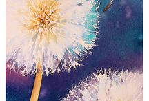bloem abstract