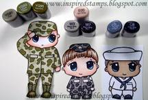 Military-focused artwork