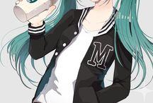 Hatsune miku/ vocaloids