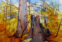 Heather MacIntosh Watercolour Paintings Landscapes / Watercolour Paintings by Heather MacIntosh
