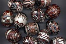 Egg sculpture and design