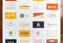 Font inspiration / Fonts to inspire and get your creative jucies flowing!