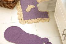 Crochet for the bathroom / Crochet / by wafaa ali