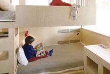 A chaque âge son style / des chambres destinées aux bébés jusqu'aux adolescents