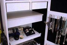 Opbevaring og udstilling af smykker / Ideer