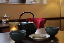 Les boissons du Temps d'un Rêve / Passez un moment d'exception autour de nos boissons chaudes dans nos confortables fauteuils en velours...