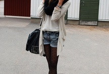 Fall / Winter Fashion: Skirts, Shorts, and Dresses / Learning how to dress up for fall and winter.