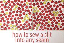 sew slits