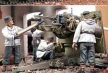Military mockups