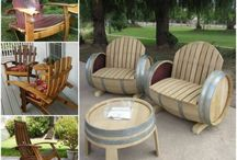 Wine Barrel Furniture