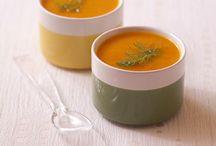 soupes, veloutés, purées...