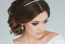 michelles wedding hair