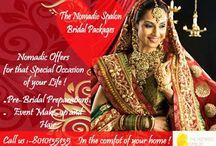 Nomadic Spalon pre bridal beautication