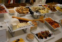 Cheese & Charcuterie Displays / Abundant Cheese & Charcuterie Displays. Artisan Cheeses, Charcuterie, Dried Fruits, Nuts, Breads, Honey