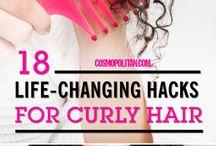 curly hair tricks