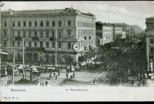 Warszawa Stare Pocztówki / Stare pocztówki ukazujące dawną Warszawę.